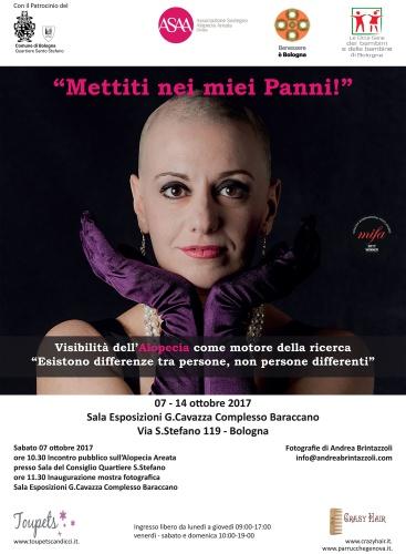 """Ottobre 2017 Mostra Fotografica: """"Mettiti nei miei Panni!"""" - Bologna"""