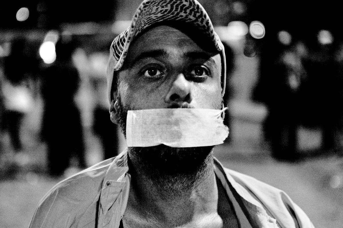 Duran Adam - standing man protest