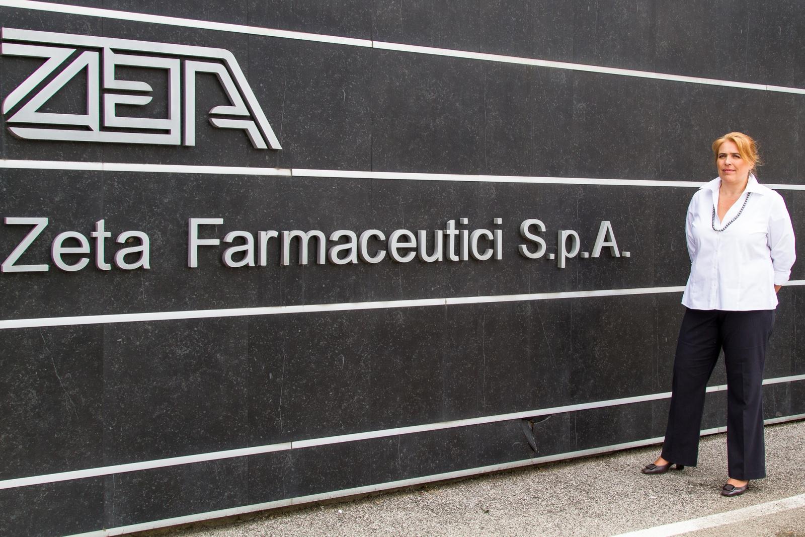 Zeta Farmaceutici  - Zeta Farmaceutici S.p.A. Marta Benedetti Amministratore Delegato Zeta Farmaceutici S.p.A. Foto Copyright Andrea Brintazzoli