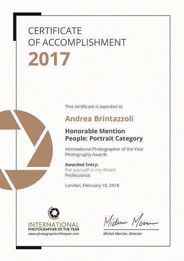 Internatinal Photographer of the Year IPOTY 2017