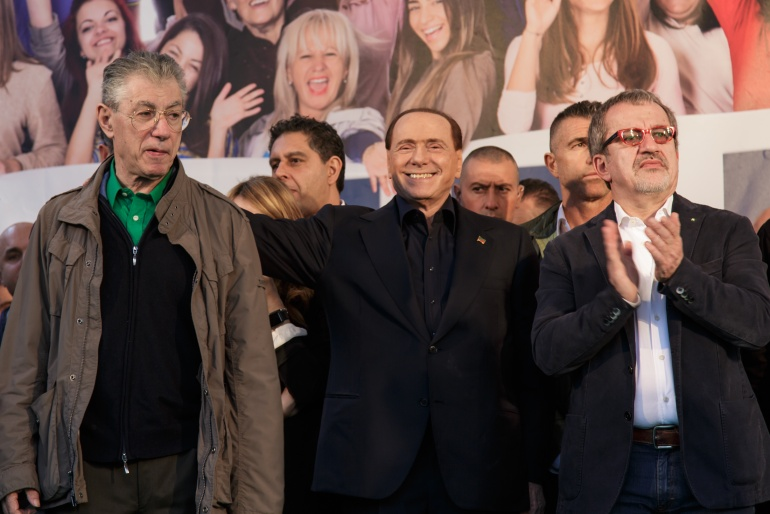 Bossi Berlusconi Maroni